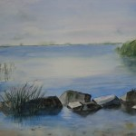 Am Bodden Aquarell