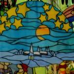 Horst Maxs Dorf mit Himmel