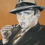Humphrey Bogart öl LW 40x50